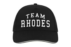 Team Rhodes Baseball Hat Cap Gift Present Surname Family Name Birthday Cool $25.92