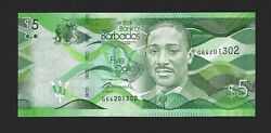 BARBADOS $5 Dollars 2017 Brand New Date Pack Fresh UNC $5.25
