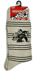 New Monopoly Mens Novelty Crew Socks Go To Jail WITH OFFICER amp; UNCLE PENNYBAGS $5.99
