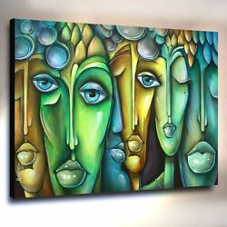 Large Abstract Art Giclee canvas print PAINTING Contemporary DECOR Mix Lang $369.00