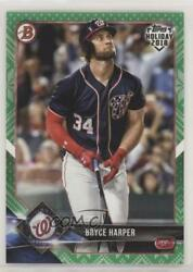 2018 Topps Holiday Bowman Green Sweater 99 Bryce Harper #TH-BH $5.71