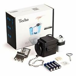 "Touchless Toilet Flush Kit with 8"" Adjustable Motion Sensor Range And Flush Time"