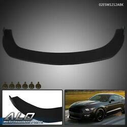 For 2015-2017 Ford Mustang Splitter Style Paintable ABS Front Bumper Lip Spoiler $164.95