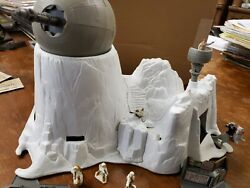 Star Wars hoth ion cannon micro with box 6 figures playset in excellent conditio $99.99
