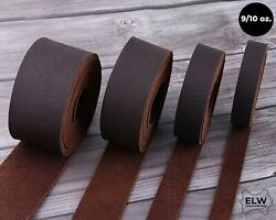 ELW Brown Tooling Leather Straps 12
