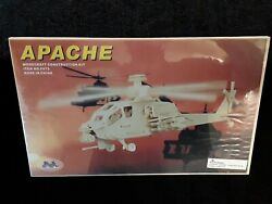 Apache Helicopter 3D Puzzle Woodcraft Construction Kit Home School Art Project $16.95