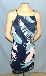 Awesome & Chic Multicolor Print Sun Dress Size Medium (Est 1012)   Cruise