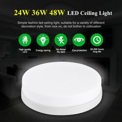 24W 36W 48W LED Ceiling Light Ultra Thin Flush Mount Kitchen Round Home Fixtures