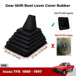 Gear Knobs Boot Lever Rubber Dust Cover Fits 1989 1997 Isuzu TFR 2WD Ute Pickup $35.90