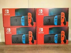 ✅ Nintendo Switch 32GB Console Neon Red amp; Blue Joy con New Version in stock $399.99