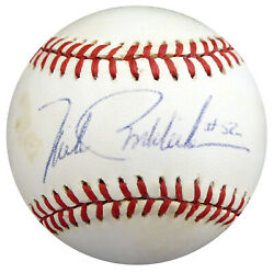 Mike Boddicker Autographed Signed AL Baseball Orioles Red Sox Beckett S78415 $25.00