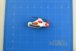 Tomica Tomy Hypercity 2008 Replacement Part Piece White Sky Helicopter Base $20.00