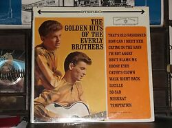 EVERLY BROTHERS the golden hits LP SEALED original STEREO warner bros WS 1471 $39.99