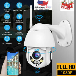 Security CCTV IR Camera Outdoor Garden WiFi 1080P HD Home Waterproof Wireless IP $44.19
