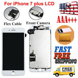 For iPhone 7 Plus A1661 A1784 LCD Replacement 3D Touch Screen Digitizer+Camera $8.99