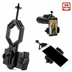 NEW Universal Telescope Cell Phone Mount Adapter for Monocular Spotting Scope US $8.98
