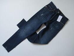 NWT Levi#x27;s 501 Skinny in Song For Forever Distressed Destroyed Stretch Jeans 24 $51.99