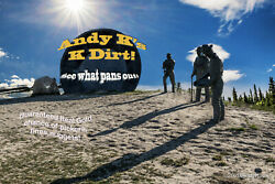 ©Andy K#x27;s K Dirt 1 4 Lb Sample Pak Unsearched Arizona Pay Dirt Added Gold $15.95