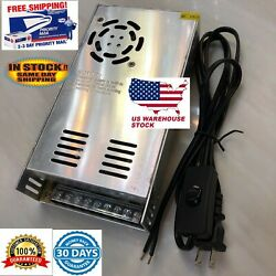 12V DC 30A  Power Supply 360W Cooling Fan Wired Wall Plug with on off switch $29.00