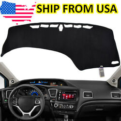 US Dashboard Cover Car Dashmat Dash Mat Pad Sun For Honda Civic 9th 2012 2015 $15.12