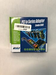 181ZR08 PCI to Series Adapter Combo Card $10.99