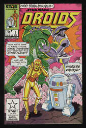 Star Wars Droids #1 VF 8.0 White Pgs Star R2D2 C3PO Marvel Comics $27.50