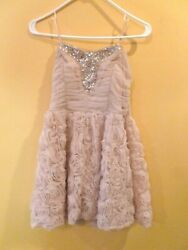 Strapless nude pink Cocktail Prom Dance Party Formal Dress Size 11 $20.00