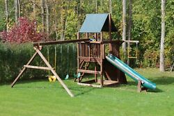Rainbow playground Sunshine clubhouse package II play system.