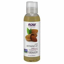 NOW Solutions Sweet Almond Oil 100% Pure Moisturizing 4 Fl Oz (Pack of 1) $7.99