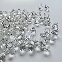 Acrylic Clear Crystals Pendant for Chandelier Jewelry Craft set of 10 $14.50