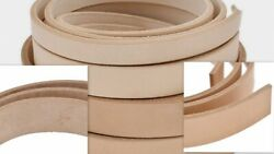 VegTan Tooling Cow Leather Belt BlanksStripsTHICKNESS 34- 56-89-910-1112OZ $7.99