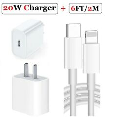 New 18W USB C Power Adapter Wall Charger For iPhone 11 Pro Max Macbook SAMSUNG $9.49