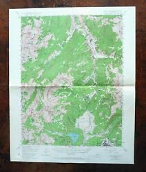 Leadville Holy Cross Ski Cooper Colorado Vintage USGS Topo Map 1949 Topographic $43.00