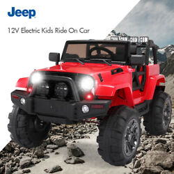 12V Electric Car Kids Ride On Truck Car Battery Power w MP3 Remote Control Red $209.99