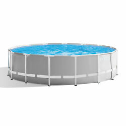 Intex 15ft x 48in Prism Above Ground Swimming Pool Set with Ladder and Cover $749.99