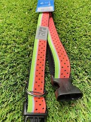 """🍉 Rc Pets 1"""" Wide Medium And Large Dog Clip Collar NWT WATERMELON 🍉 $6.95"""