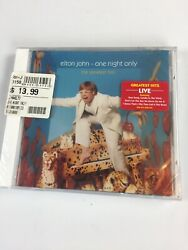 Elton John One Night Only The Greatest Hits CD 2000 Universal New Sealed