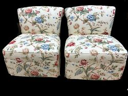 Pair Century Chairs Exquisite amp; In Fabulous Condition Long Dist. Mvg Available $995.00
