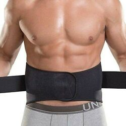 2PCS Waist Trimmer Ab Belt  Weight Loss  Back Supporter Lower Back Pain Black $19.95