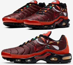 Nike Air Max Plus Tn Sunburst Habanero Red Orange Gold Black CK9393 600 Men#x27;s $124.97