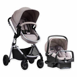 Evenflo 56011993 Pivot Stroller and Infant Car Seat Travel System Sandstone $279.99