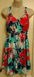 D And Co Beach One Piece Swimsuit Swimdress Women's size 8 $24.00