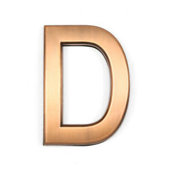 Barton 4quot; House Door Wall Hotel Apartment Home Street Letter D Self Adhesive