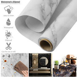 Contact Paper Self Adhesive Oil-proof Waterproof Wall Sticker Kitchen Bathroom