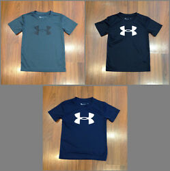 Under Armour T Shirt Boys Size 4 5 6 7 NEW $9.00