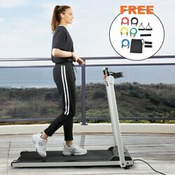 Treadmill Electric Motorized Power 2.0 HP Folding Running Machine Home Gym LCD $217.49