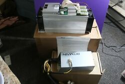 Lot of 5 x Bitmain Antminer  S9 All w Bitmain PSU all tested and working   $540.00