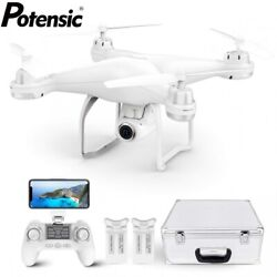 Potensic T25 Drone with Carry Case 1080P HD Camera RC Quadcopter FPV GPS Drones $176.99