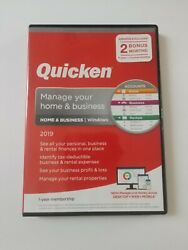 New  Quicken Home & Business 2019 for Windows Manage your Home & Business $45.00