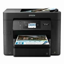 Wireless Print Copy Scan Fax Epson WF-4734 Economical Business Office FREE SHIP $199.95
